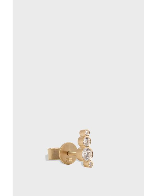 Sophie Bille Brahe - Multicolor Flacon Earring, Size Os, Women, Y Gold - Lyst