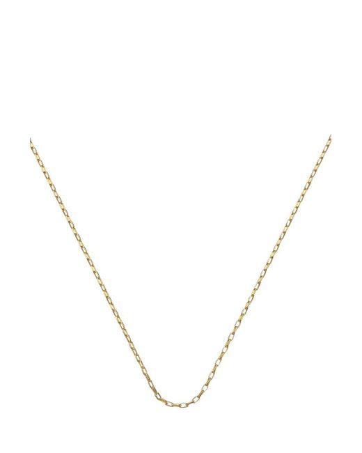 Monica Vinader | Metallic Fine Link Chain 30 Inch | Lyst