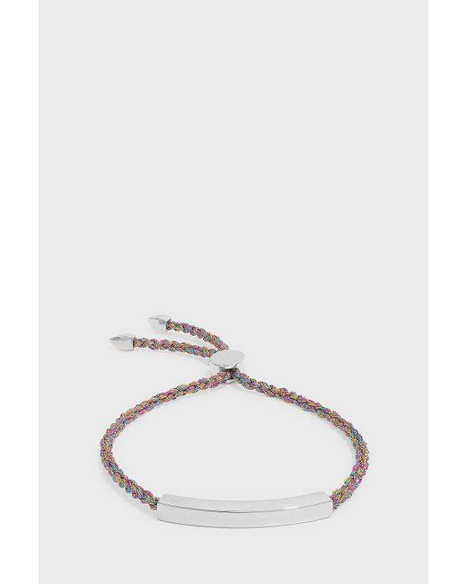Monica Vinader - Multicolor Linear Friendship Large Bracelet - Lyst