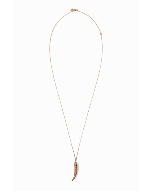 Maha Lozi - Je M'en Fous Necklace, Size Os, Women, Metallic - Lyst