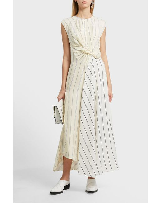 Lyst - 3.1 Phillip Lim Twisted Henley Maxi Dress