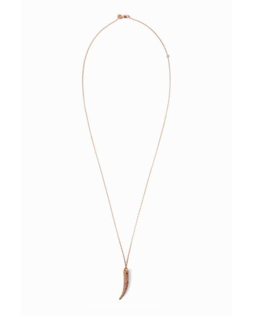 Maha Lozi | Metallic Je M'en Fous Necklace | Lyst