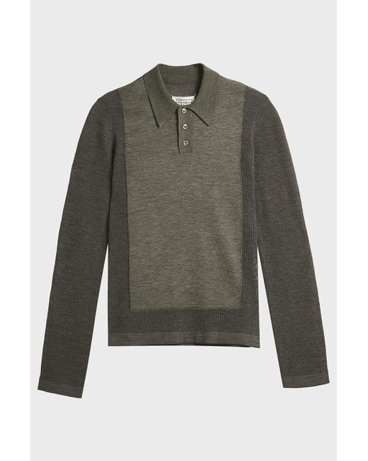 Sale Fake Where To Buy Low Price Mm6 Maison Margiela longsleeved loose sweater Recommend Cheap Price Quality Free Shipping Low Price Cheap Sale Footlocker Finishline pVRrWCg