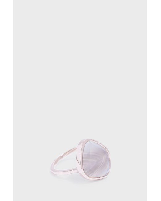 Monica Vinader   Multicolor Siren Nugget Stacking Ring   Lyst