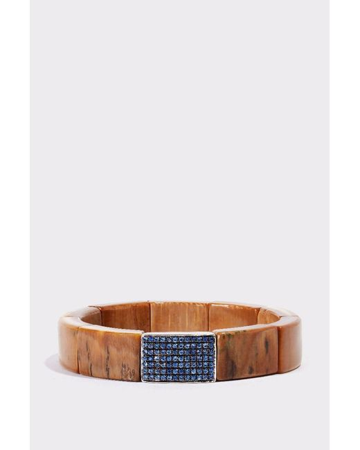 Sydney Evan | Multicolor Mammoth And Sapphire Cuff | Lyst