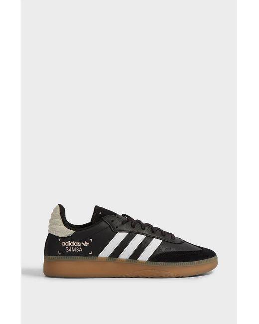 a8c6a8f40d7a Adidas Originals - Black Samba Rm Trainers for Men - Lyst ...