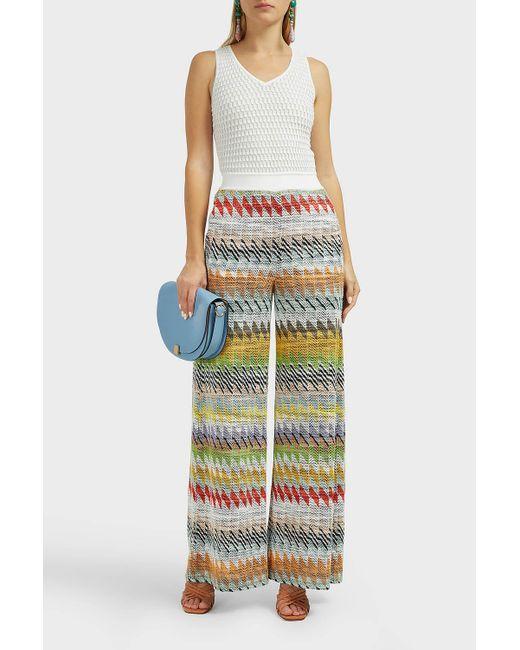 d41b26be801 Missoni - Multicolor Zig Zag Cotton-blend Jumpsuit - Lyst ...