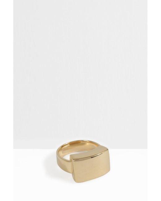 Monica Vinader | Multicolor Linear Plain Ring | Lyst