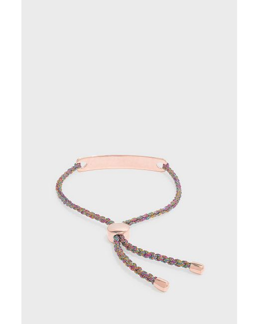 Monica Vinader | Multicolor Linear Friendship Large Bracelet | Lyst