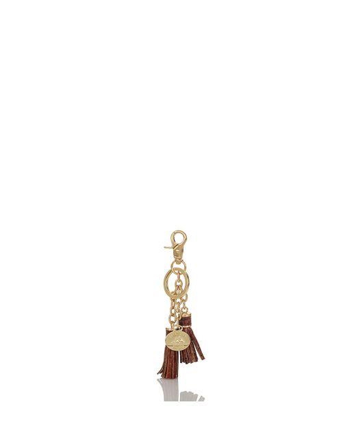 Brahmin - Metallic Tassel Key Ring Melbourne - Lyst