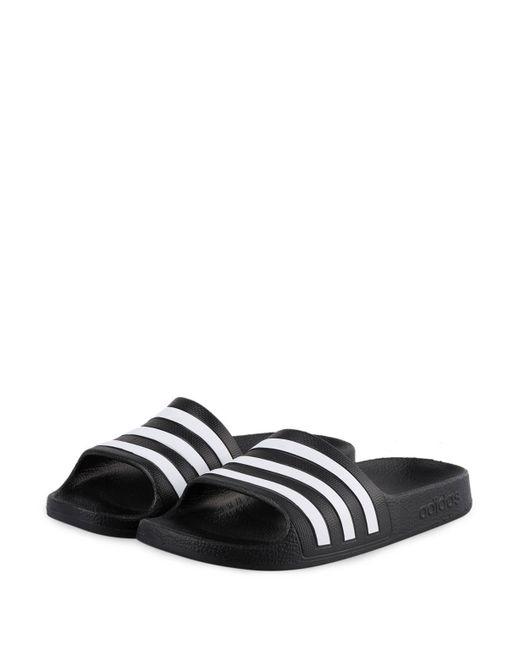 Adidas - Black Badeschuhe ADILETTE AQUA for Men - Lyst