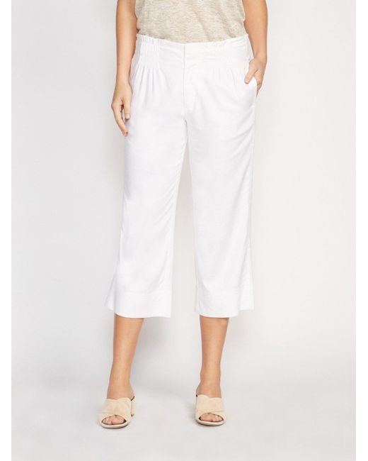 Brochu Walker - White The Loanna Pant - Lyst