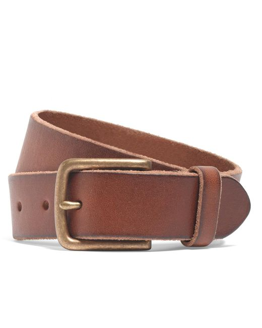 Brooks Brothers - Brown Chino Belt for Men - Lyst
