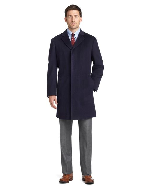 Brooks Brothers | Blue Brooksstorm® Short Town Coat for Men | Lyst