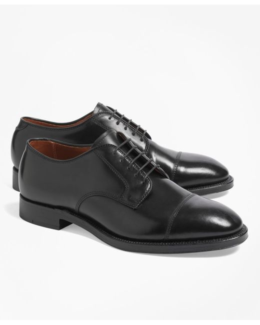 Brooks Brothers | Black Cordovan Leather Straight Tips for Men | Lyst