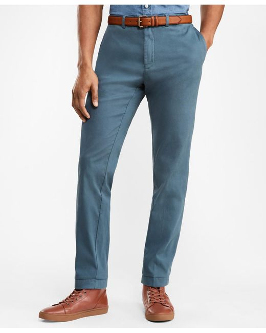 Brooks Brothers - Blue Slim-fit Bedford Corduroy Chinos for Men - Lyst
