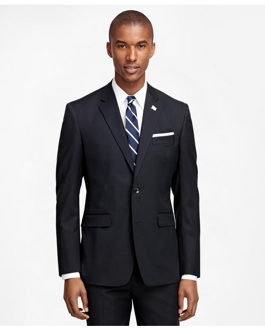 Brooks Brothers - Black Milano Fit Solid 1818 Suit for Men - Lyst