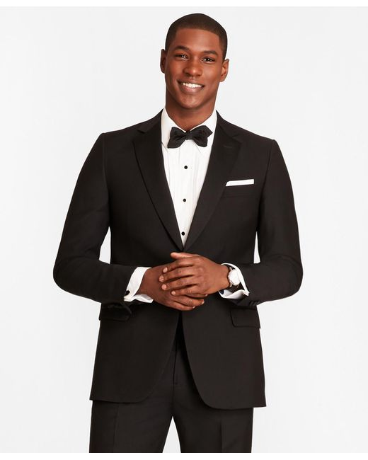 Brooks Brothers - Black 1818 One-button Fitzgerald Tuxedo for Men - Lyst