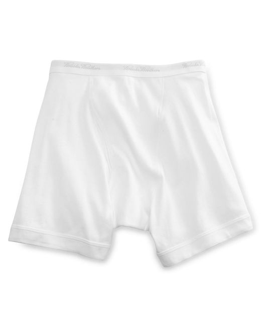 Brooks Brothers - White Supima® Boxer Briefs for Men - Lyst