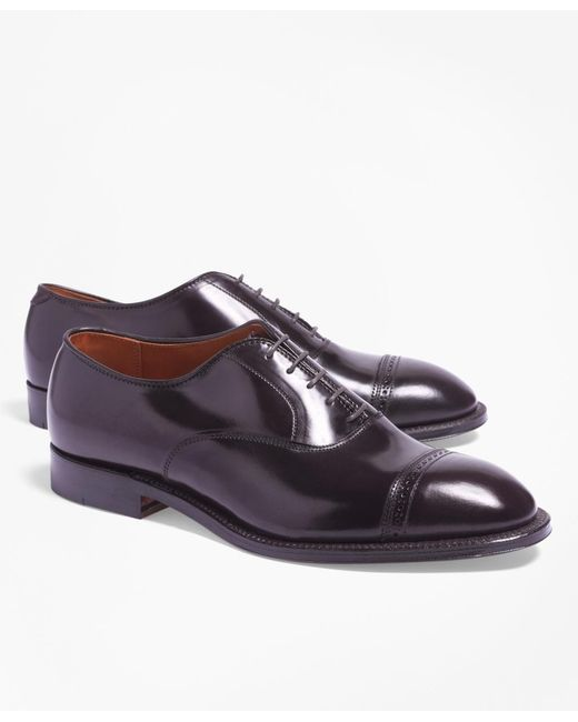 Brooks Brothers | Purple Cordovan Perforated Captoes for Men | Lyst