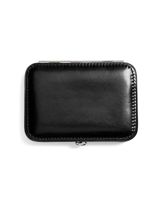 Brooks Brothers | Black Leather Business Card Case for Men | Lyst