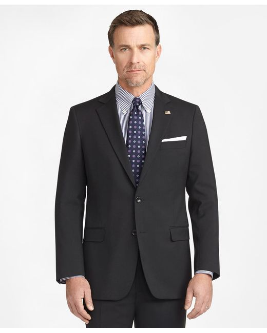 Brooks Brothers - Black Fitzgerald Fit Two-button 1818 Suit for Men - Lyst
