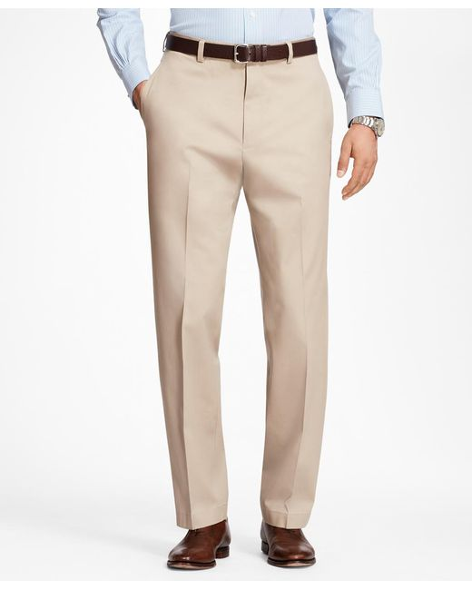 Brooks Brothers - Natural Hudson Fit Stretch Advantage Chinos® for Men - Lyst