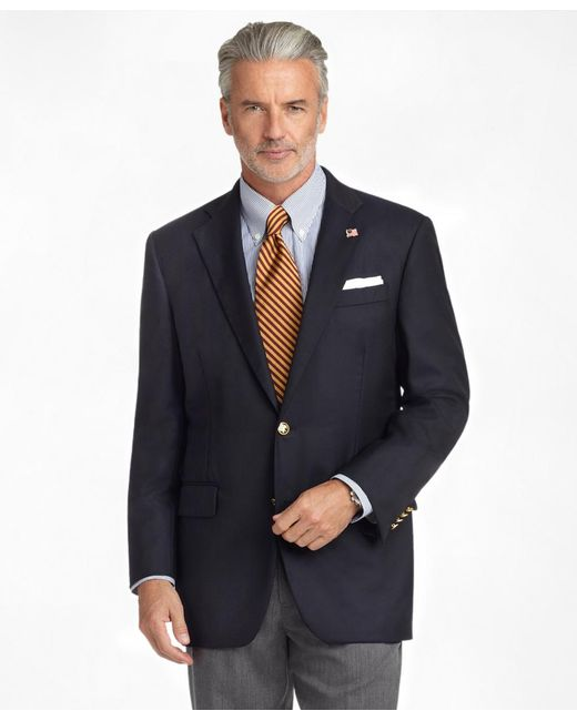 Brooks Brothers - Blue Madison Fit Golden Fleece® Saxxontm Wool Reserve Blazer for Men - Lyst