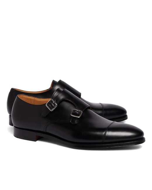 Brooks Brothers - Black Peal & Co.® Double Monk Strap Shoes for Men - Lyst