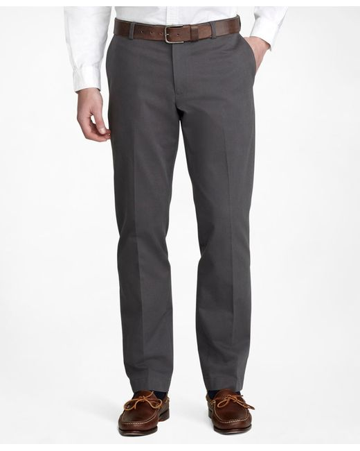 Brooks Brothers | Gray Milano Advantage Chinos® for Men | Lyst