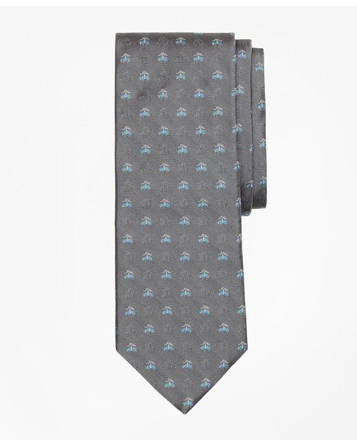 Brooks Brothers - Gray Shadow Golden Fleece® Tie for Men - Lyst