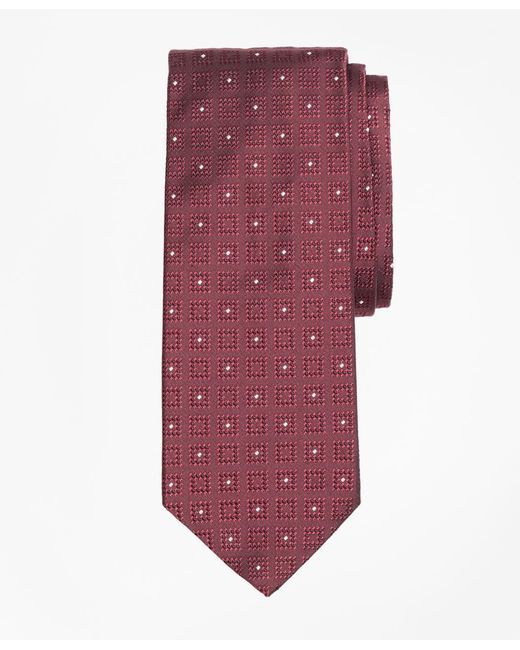 Brooks Brothers - Multicolor Square With Dot Tie for Men - Lyst