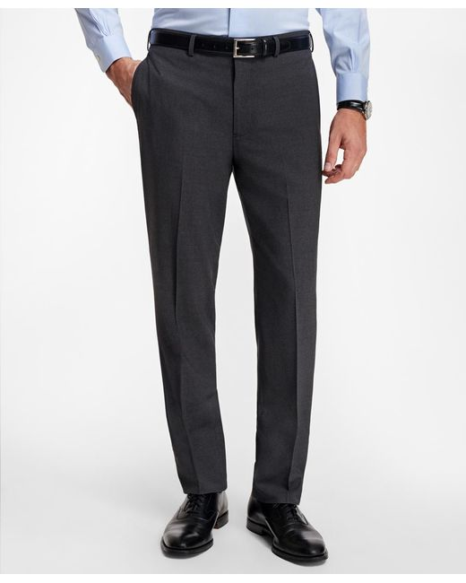 Brooks Brothers - Gray Regent Fit Brookscool® Trousers for Men - Lyst
