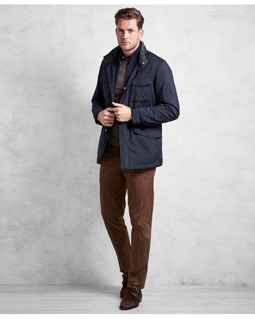 Brooks Brothers - Blue Golden Fleece® Brookstech Synthetic Traveler Jacket for Men - Lyst
