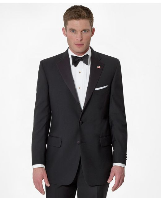 Brooks Brothers | Black Three-button Madison Fit Tuxedo Jacket for Men | Lyst