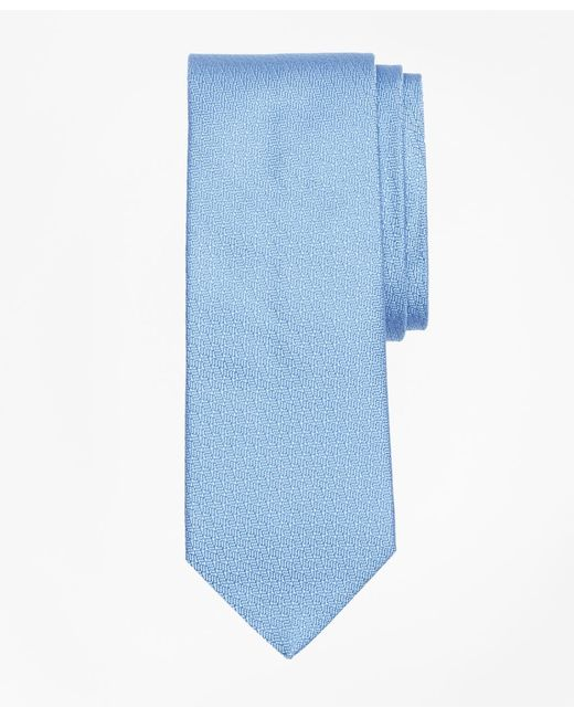 Brooks Brothers - Blue Textured Tie for Men - Lyst