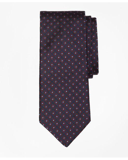 Brooks Brothers | Blue Framed Medallion Tie for Men | Lyst
