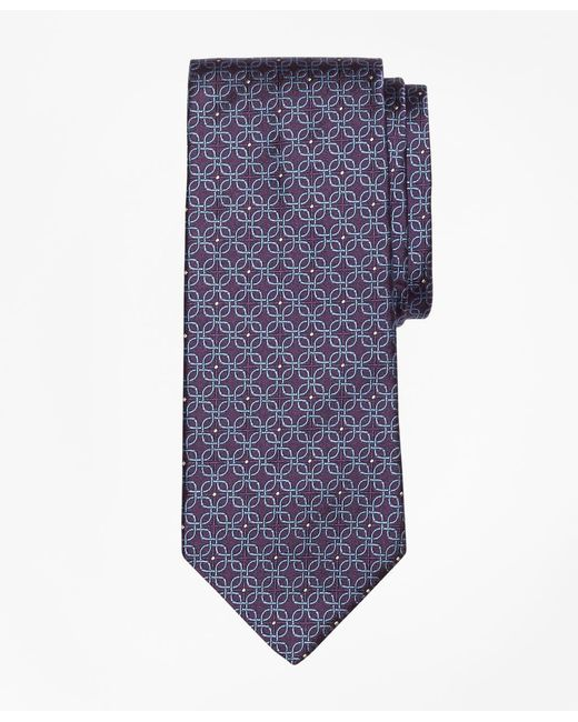 Brooks Brothers - Purple Open Link Tie for Men - Lyst