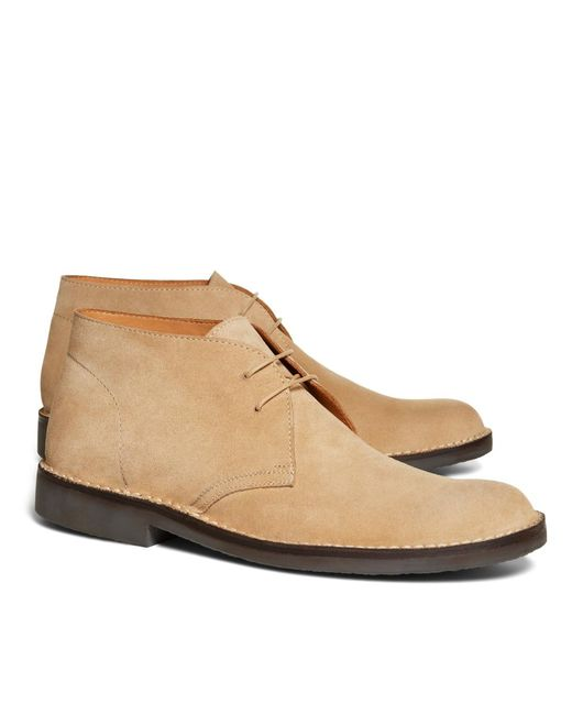 Brooks Brothers | Brown Field Chukka Boots for Men | Lyst