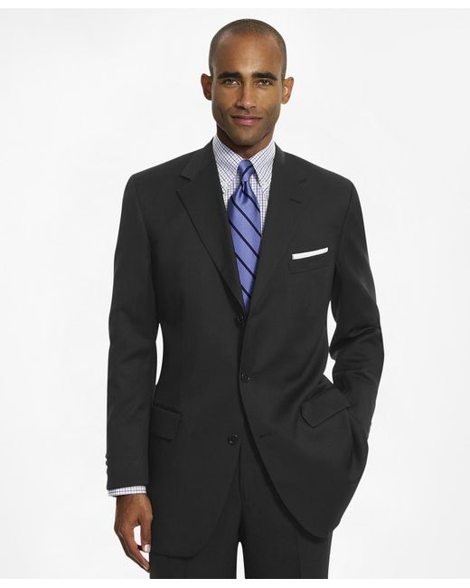 Brooks Brothers | Black Madison Fit Three-button 1818 Suit for Men | Lyst