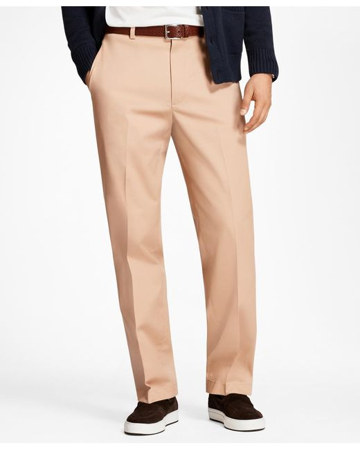 Brooks Brothers - Multicolor Hudson Fit Lightweight Stretch Advantage Chinos® for Men - Lyst