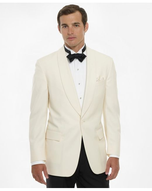 Brooks Brothers | White Dinner Jacket for Men | Lyst