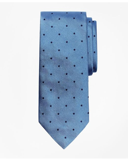 Brooks Brothers - Blue Dot Rep Tie for Men - Lyst