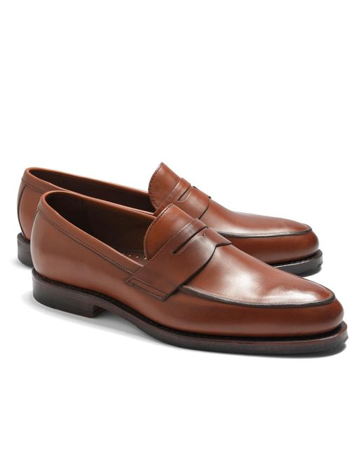 Brooks Brothers   Brown Penny Loafers for Men   Lyst
