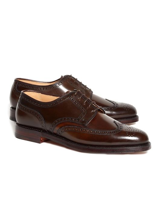 Brooks Brothers - Brown Peal & Co.® Cordovan Brogue for Men - Lyst