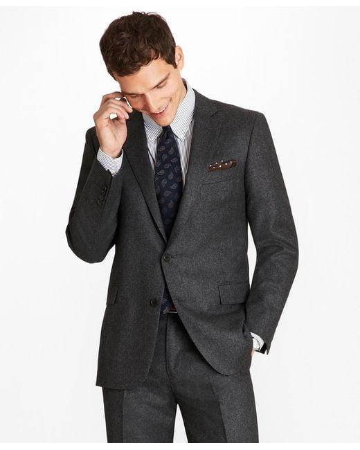 Brooks Brothers - Blue Regent Fit Stretch Flannel 1818 Suit for Men - Lyst