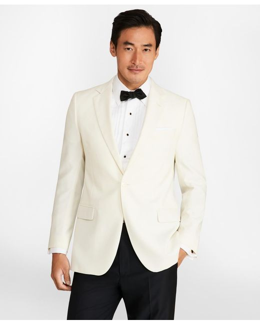 Brooks Brothers - White Fitzgerald Dinner Jacket for Men - Lyst