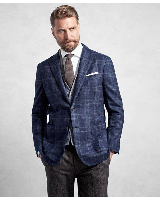 Brooks Brothers | Golden Fleece® Blue Plaid Sport Coat for Men | Lyst
