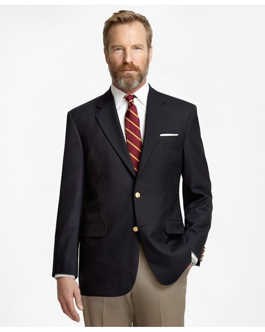 Brooks Brothers - Blue Madison Fit Two-button Classic 1818 Blazer for Men - Lyst