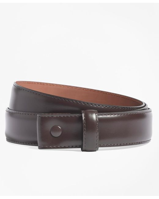 Brooks Brothers | Brown Leather Strap for Men | Lyst